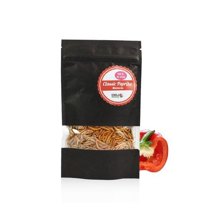 Gevriesdroogde Meelwormen Classic Paprika 13 gram