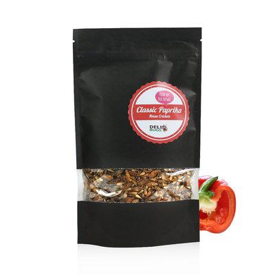Gevriesdroogde Huiskrekels Classic Paprika 70 gram