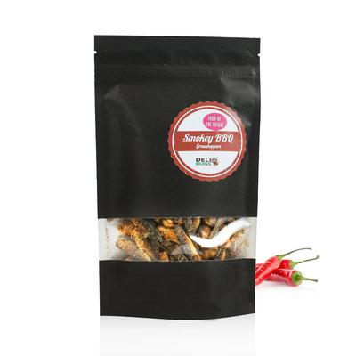 Gevriesdroogde Sprinkhanen Smokey BBQ 40 gram