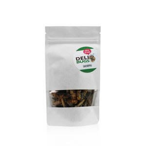 Gevriesdroogde Sprinkhanen 20 gram
