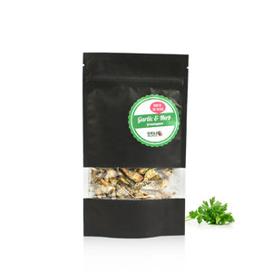 Gevriesdroogde Sprinkhanen Garlic&Herbs 20 gram
