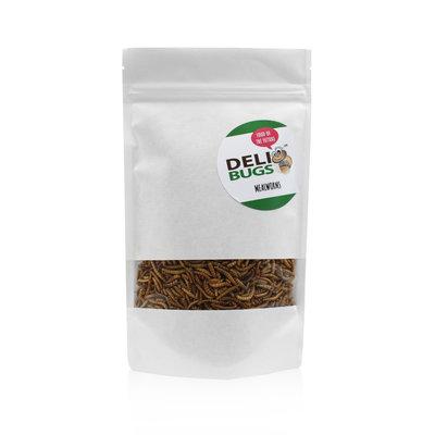 Gevriesdroogde Meelwormen 70 gram
