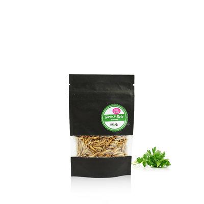 Gevriesdroogde Meelwormen Garlic&Herbs 13 gram