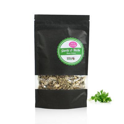 Gevriesdroogde Huiskrekels Garlic&Herbs  70 gram