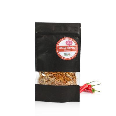 Gevriesdroogde Meelwormen Classic Paprika 40 gram