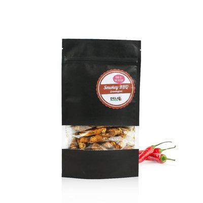 Gevriesdroogde Sprinkhanen Smokey BBQ 20 gram