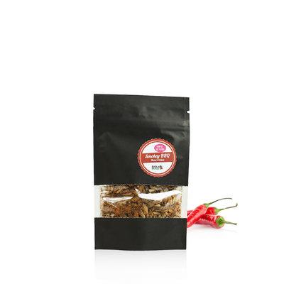 Gevriesdroogde Huiskrekels Smokey BBQ 15 gram