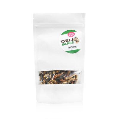 Gevriesdroogde Sprinkhanen 40 gram