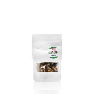 Gevriesdroogde Sprinkhanen 9 gram